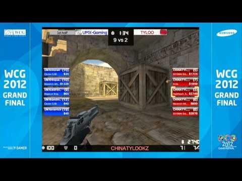 [WCG2012GF] ENG CSO Tyloo vs UMX Gaming