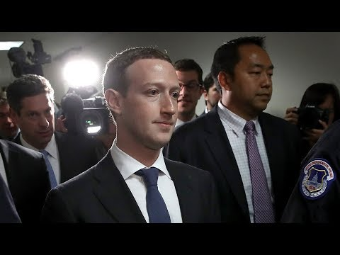 Facebook CEO Mark Zuckerberg testifies before Congress on da