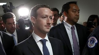Facebook CEO Mark Zuckerberg testifies before Congress on data scandal