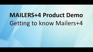 Getting to Know MAILERS+4