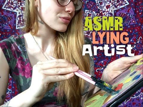 ASMR Lying Artist Paints Your Portrait