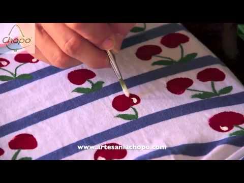 comprar auténtico grandes variedades lista nueva Tutorial: cómo pintar la ropa con pintura Sosoft Americana Decoart