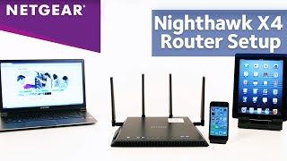 01. NETGEAR Nighthawk X4 AC2350 WiFi Router Installation Video (R7500)