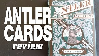 Antler Playing Cards - Dan and Dave Buck - Deck Review
