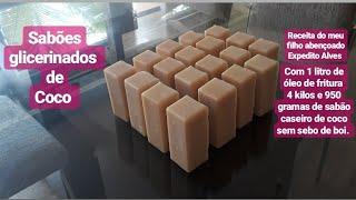 Faça Sabões Glicerinados de Coco