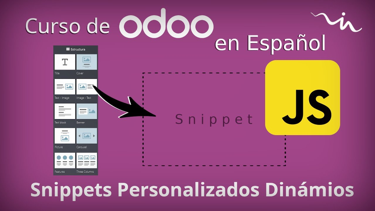Curso Odoo - Snippets Dinámicos (JavaScript)