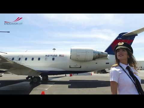Meet Endeavor Air's First Female Chief Pilot
