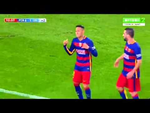 Neymar Celebration After Scoring Goal