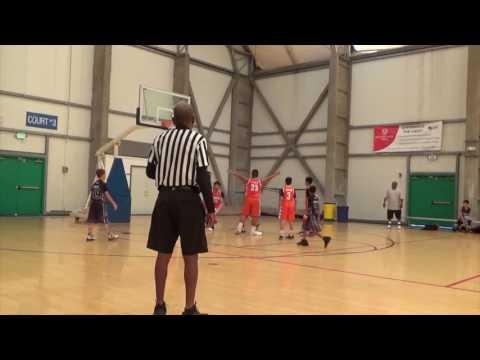 H1 Thunder vs Chula Vista Lakers full game (SD Sol 11U) 6/25/2017