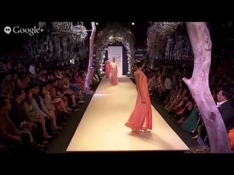 Opening Show: Manish Malhotra   Lakmé Fashion Week Summer/Resort 2014