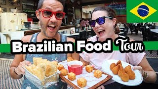 10 Dishes to Try in São Paulo Brazil. Eating with a Local. Canadians try traditional food in Brazil.
