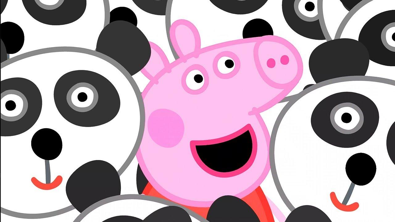 Peppa Pig Świnka Peppa po Polsku | Zabawkowa Panda | Bajki Po Polsku