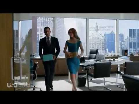 Suits - Donna / Harvey - Middle name