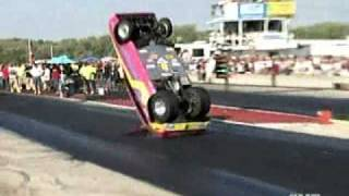 Drag race Wrecks