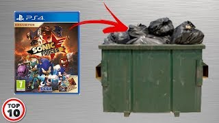 Top 10 Reasons Why Sonic Forces Is Garbage