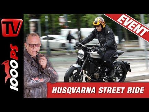 Husqvarna rabaukt durch Wien – Street Ride Tour 2019