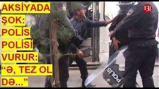 Aksiyanın ən maraqlı görüntüsü:POLİS aksiyaçıların üstünə gec gedən POLİSİ vurur(19.10.2019)ABUNƏ OL