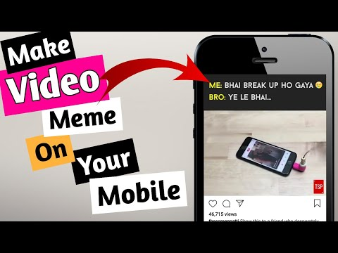 How To Make Video Memes Like Tvf, Thescreenpatti And Thetimeliners On Mobile | Android Tutorial