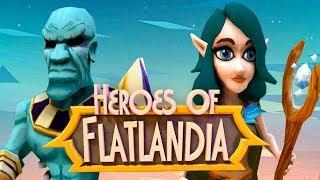 Heroes of Flatlandia - Android/iOS Gameplay ᴴᴰ screenshot 3