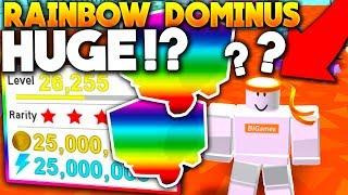 BESITZER GIBT *FREE * RAINBOW DOMINUS RIESIGEN STREICH! - Roblox Pet Simulator (Update)