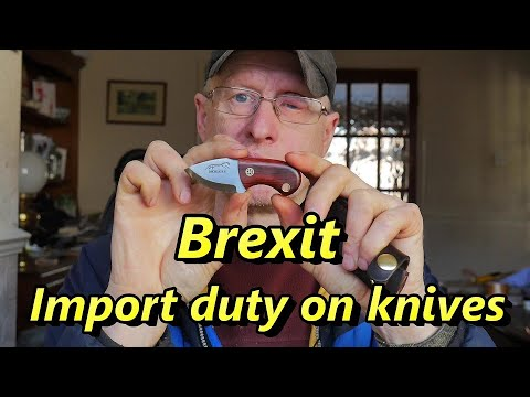 Brexit will impact oversea's knife sales
