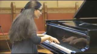 Isaac Albeniz - Mallorca performed by Lizzy Cojocaru