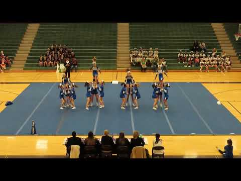 Midlothian Middle School at Chesterfield County Middle School Cheer Competition 2020