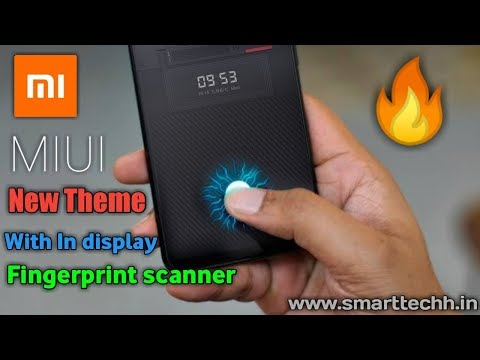 Best New Themes MIUI 10 ! In Display Fingerprint Edition Themes Any Xiaomi Phones ! Must Have 2018