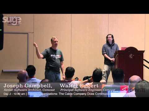Surge 2013 Speaker: Joseph Campbell and Walter Eggert