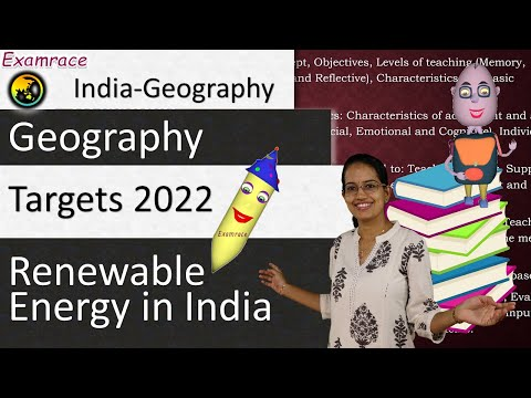 Renewable Energy in India - Targets 2022