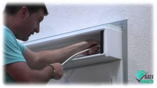 Tutoriel Baticoach : Pose d'un moteur de volet roulant sur une fenêtre PVC