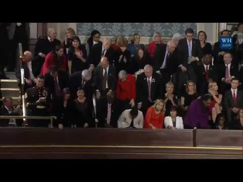 President Donald Trump Speech to Joint Session Of Congress without clapping