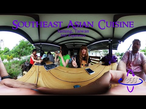 Southeast Asian Cuisine Slideshow in 360°