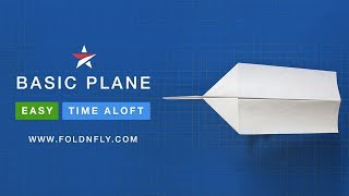Fold 'N Fly ✈ The Basic Paper Airplane