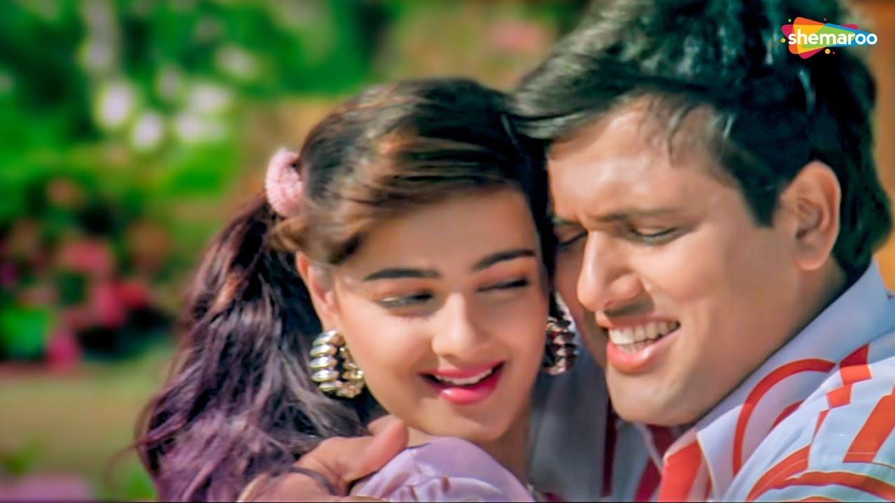 कितने दिनों के बाद मिले हो   ममता   गोविंदा   अल्का   कुमार सानू   Andolan - HD Lyrical   Hit Song