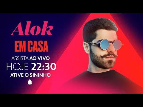 ? LIVE: Alok Em Casa