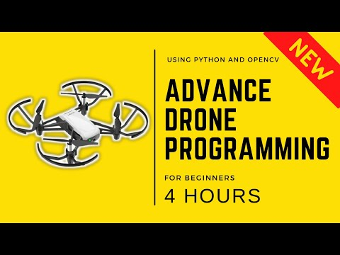 Advance Drone Programming in 4 Hours   OpenCV Python