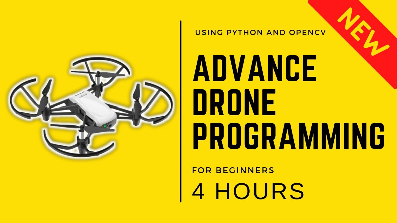 Advance Drone Programming in 4 Hours | OpenCV Python