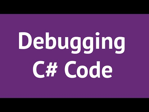 Debugging C# Code in Visual Studio