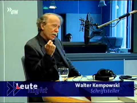 Lust- Und Unlustgefühle, Walter Kempowski über Haftzeit In Bautzen