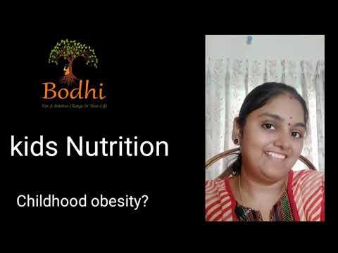 Kids nutrition & Childhood obesity