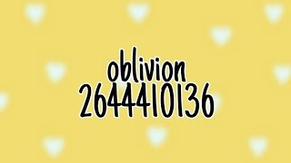 Roblox Music Codes - Oblivion Remix (Lofi Hip Hop)