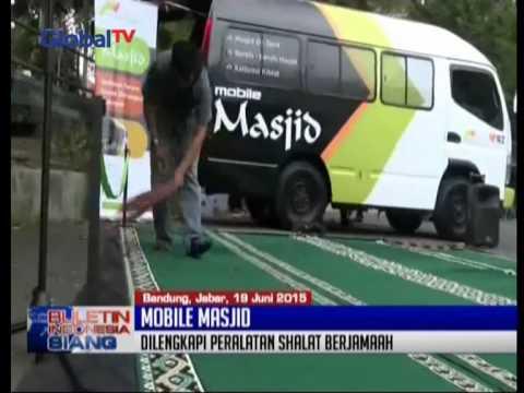 Di Bandung, Jabar, Hadir Mobile Masjid Yang Membantu Umat Muslim Menunaikan Shalat - BIS 21/06