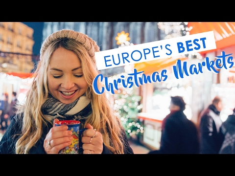 Visiting 8 of Europe's BEST Christmas Markets in a week!!!