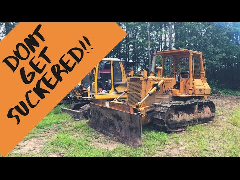 What to look for when buying a used BULLDOZER!