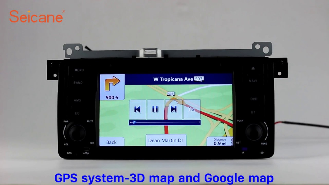 Android 6.0 1998-2006 BMW M3 3 Series E46 Radio GPS Sat Nav DVD ...