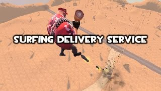 Quick Video - Surfing Delivery Service (4K 60fps)(If you want to actually play with any of the weapons shown on this YouTube channel, check out one of our TF2 servers! Custom TF2 Weapons with Extended ..., 2016-11-14T18:36:43.000Z)