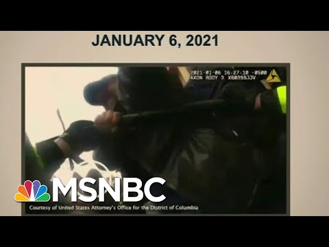 Body Camera Footage Shows Officers Assaulted By Mob On Jan. 6 | Morning Joe | MSNBC