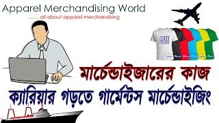 Garments Merchandising  | Full Concept | Job Responsibility | Merchandising Process | Episode 1