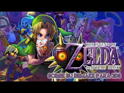 Vídeo-Opinión | Sobre el remake de The Legend of Zelda Majora's Mask para Nintendo 3DS